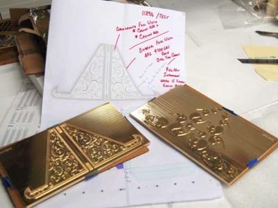Neenah Paper Behind the Scenes of the 2012 CRANE'S Paper Calendar