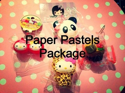 Paper Pastels Squishy Package