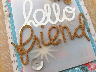 {Paper Smooches} Introducing Bold Buzzwords, Deco Bag & Friend Word