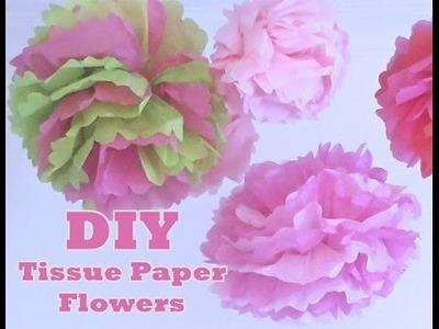 Retro Craft: Tissue Paper Flower Balls