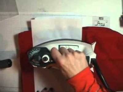 Video Tutorial Wax Paper Resist Technique