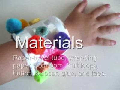 Activity #2 Let's Make Paper Bracelet