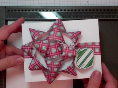 Card Box & Paper Bow - Stampin Up products