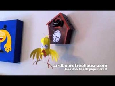 CBTH CooCoo Clock Paper Craft.m4v