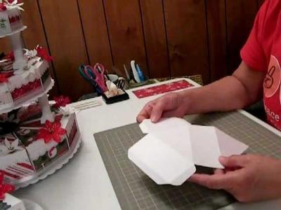 Cricut Paper Christmas Cake