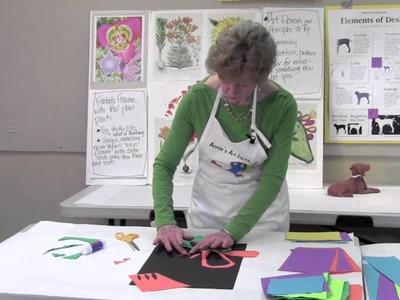 Cut paper creations with Annie Painter  lesson 12 part A