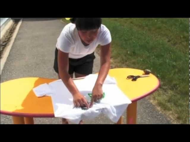 DO TRY THIS @ HOME! Ep. 2 Tye Dye With Tissue Paper