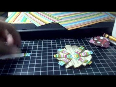 Gift wrapping 1 (paper flowers)