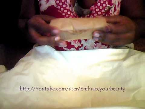 Hair Tutorial #002 Pt1 Ladeybug7's Signature Extra LARGE Paper Bag Rollers