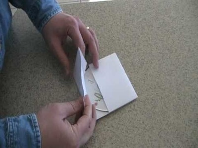 How To Make A Paper CD Case Video #2
