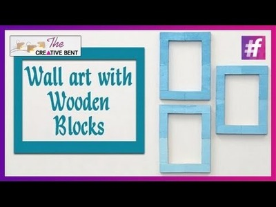 Cool DIY: Easy Wall Art with Jenga Wood Blocks