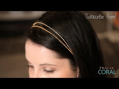 DIY Bridal Headband