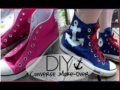 DIY: Converse Make Over ✩