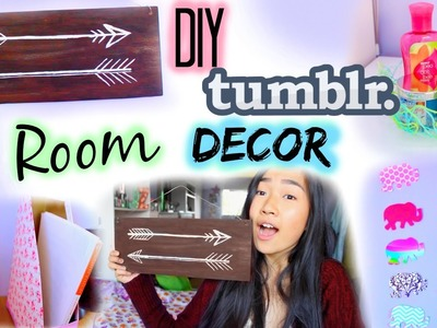 DIY: Tumblr Room Decor & Organization for Cheap | Collab with Gabsi Salant