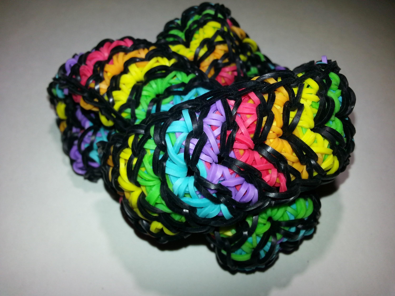Extending the Original Herringbone Bracelet Tutorial by feelinspiffy (Rainbow Loom)