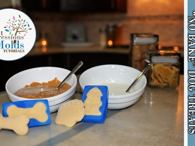 FIRST IMPRESSIONS MOLDS: Frozen & No Bake Dog Treats