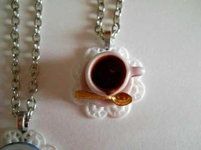 Handmade miniatures - home decor - cute kawaii - fimo polymer clay - food jewelry - by Marzapan