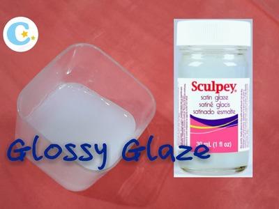 HOMEMADE Polymer Clay Glossy Glaze (same as sculpy glaze)