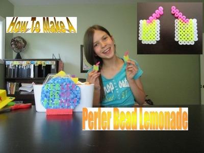 How To Make A Perler Bead Lemonade