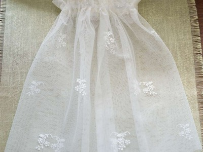 How To Sew A Simple Petticoat Doll. - DIY  Tutorial - Guidecentral