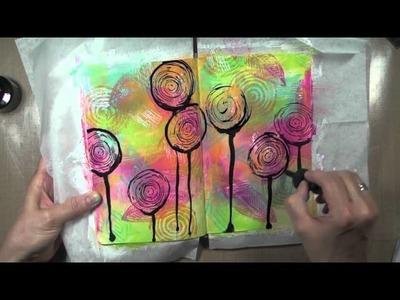 Journal d'artiste * life is art * Art Journaling