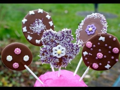 Mother's Day Chocolates and Chocolate Lollipops