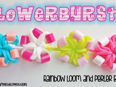 NEW! Rainbow Loom Flowerbursts Tutorial - How To