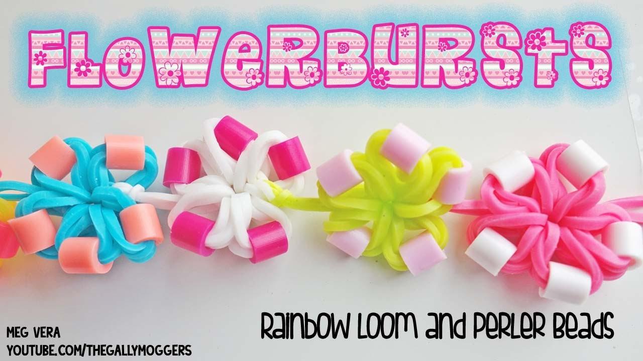 NEW! Rainbow Loom Flowerbursts Tutorial - How To