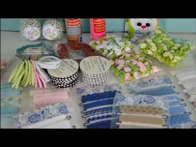 Our Craft haul ~ items for American Girl dolls and Doll house