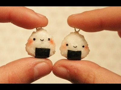 Polymer Clay Tutorial Onigiri.Rice Ball