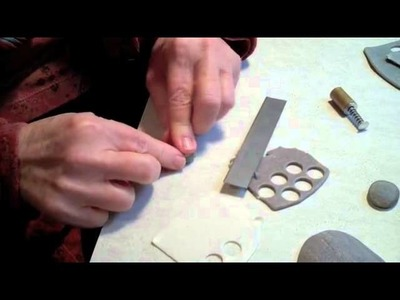 Polymer Clay - Tutorial | Wishing stone in polymer clay