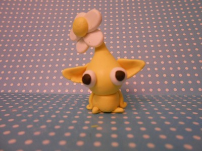 Polymer Clay Yellow Pikmin