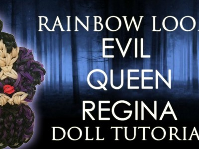 Rainbow Loom Evil Queen Regina How To.Tutorial