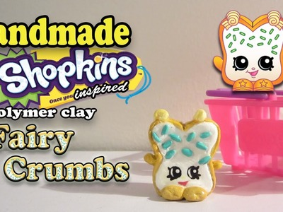 Season 1 Shopkins: How To Make Fairy Crumbs Polymer Clay Tutorial!