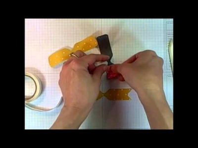 Stampin' Up! Envelope Punch Board 3D Paper Bow Tutorial