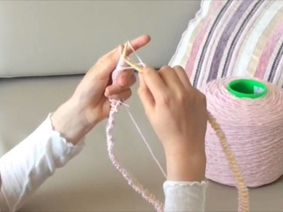 Tutorial - How to Knit a Bag