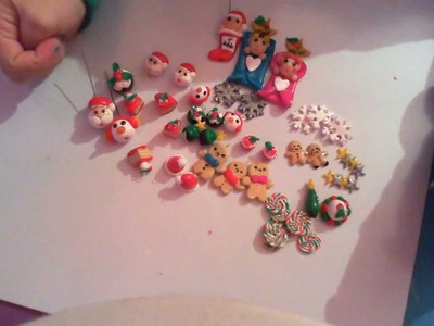Charms update#10: Christmas creation! Creazioni di Natale! Polymer clay Fimo Premo Cernit