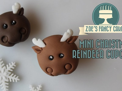 Christmas reindeer cupcakes how to make Christmas cupcakes ideas cake decorating