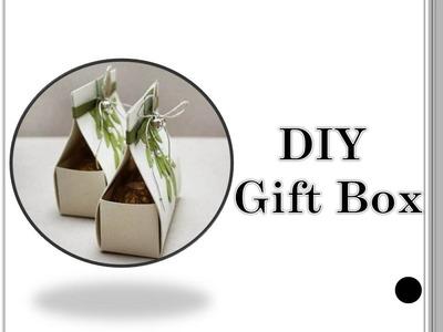 DIY cute gift boxes