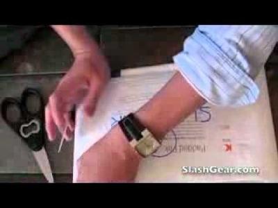 DIY MacBook Air Sleeve from FedEx Padded Pak  + Get your FREE Macbook pro