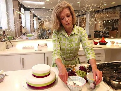 Fiona Cairns - wedding cake decoration ideas - Waitrose