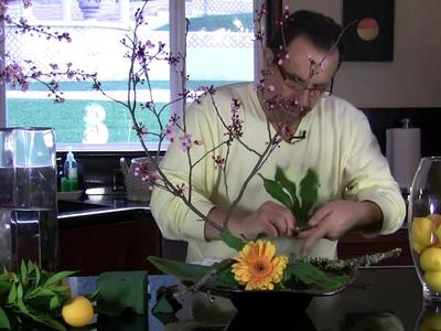 Floral design with Lemons | KShar's Kitchen