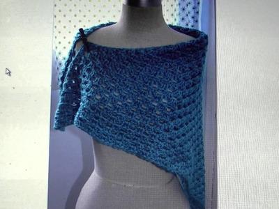 FREE written pattern - Granny Stitch Shawl