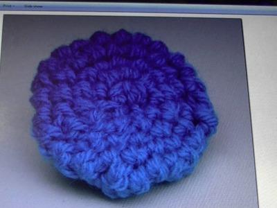 FREE written pattern - Rosette flower