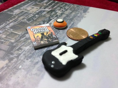 Guitar Hero Polymer Clay Tutorial