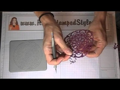 Helpful Tips For The Stampin' Up! Paper Doily Sizzlit Die
