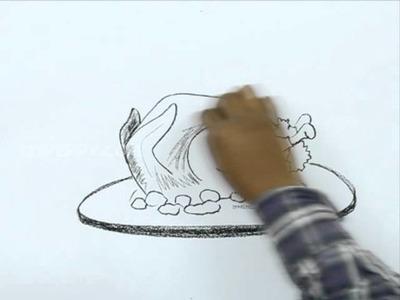 How to Draw a Turkey Meat