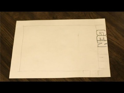 How to Make a Block Letter Outline Page : Art & Drawing Tips