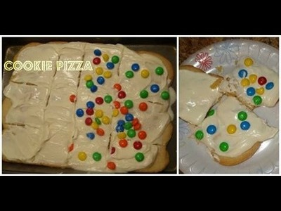 How to Make a Cookie Dessert  Pizza