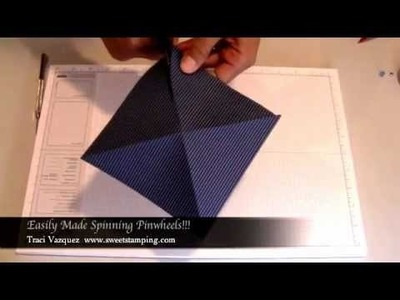 "How to make a Pinwheel!! Use 6""x6"" paper!"